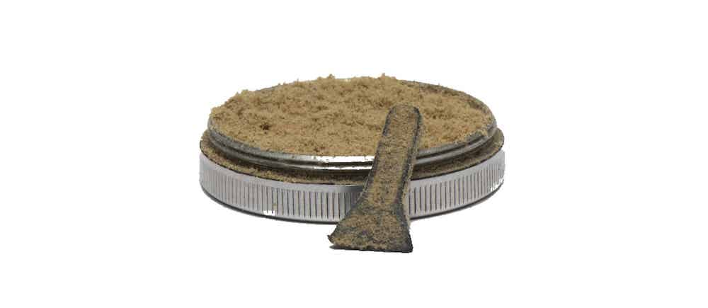 Kief is a concentrated form of cannabis in barcelona photo