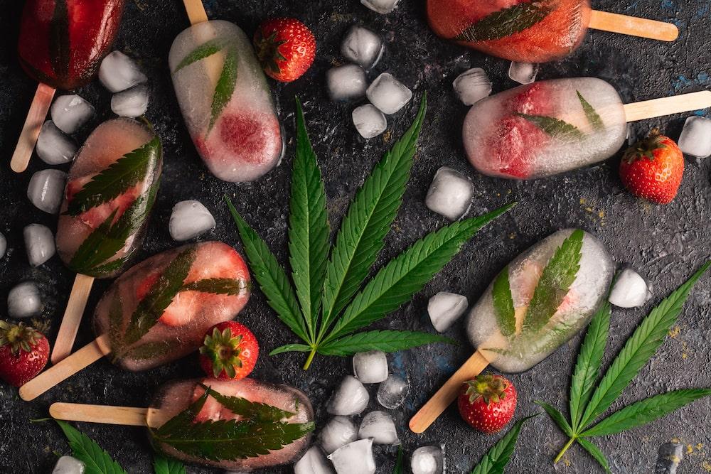 Homemade cannabis ice cream