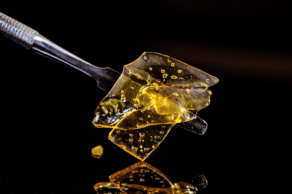 cannabis wax photo