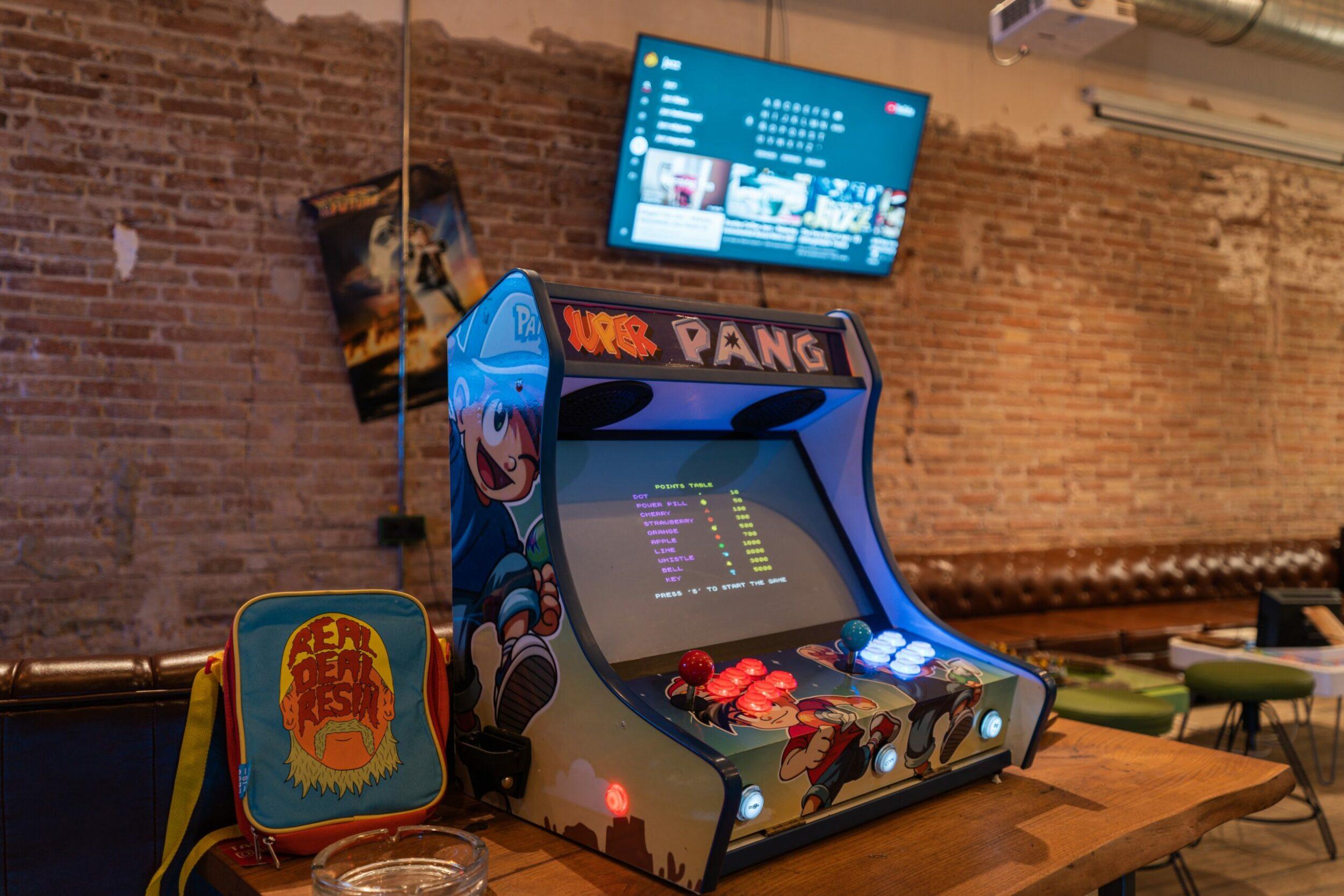 slot machine in the cannabis club