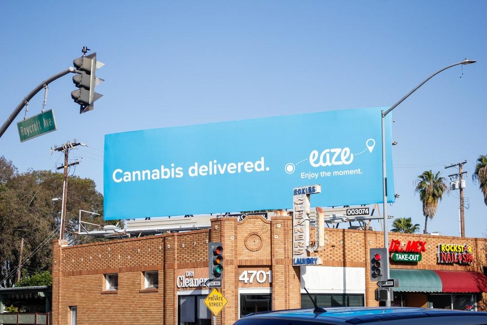 California cannabis delivered photo
