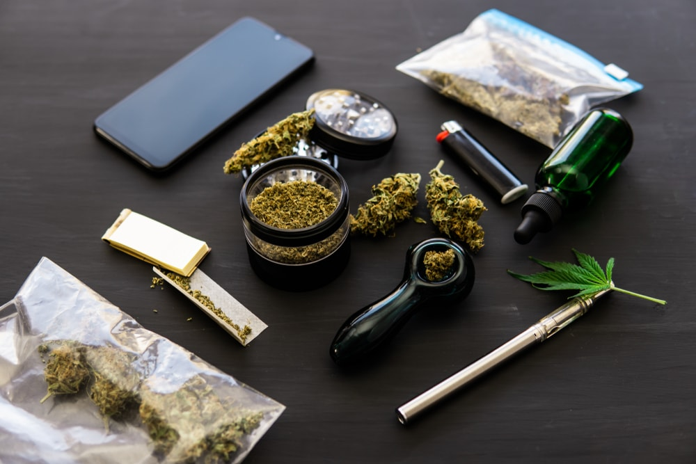 vaping weed in Spain photo
