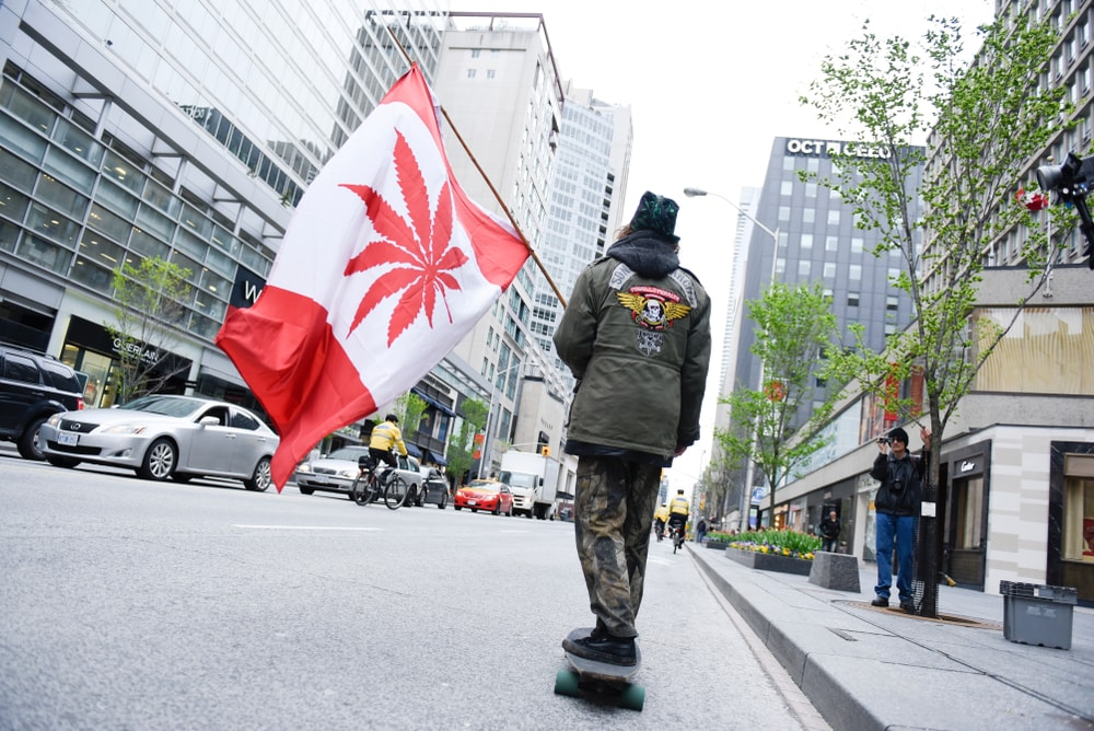 Canada has legalized weed photo