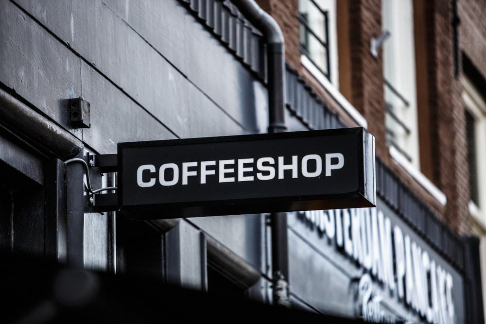 Coffeeshop in the Barcelona photo