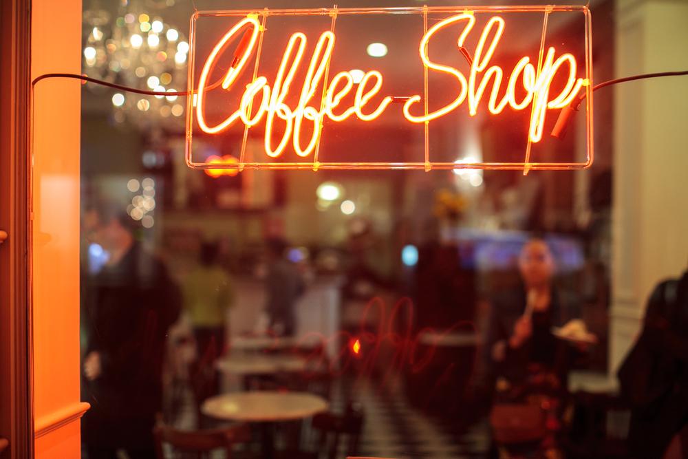 Coffe shop photo