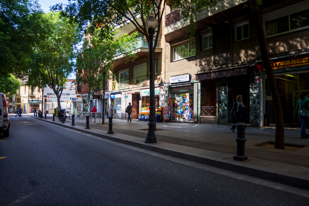 Главная улица района Сан Андреу (Барселона)