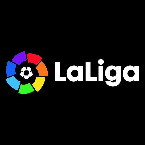 The logo of La Liga